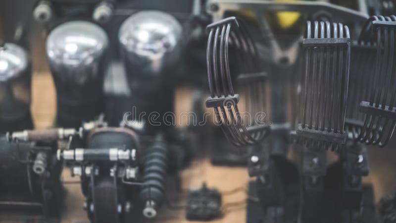 Marine Engine Machine Technology nautique photographie stock libre de droits