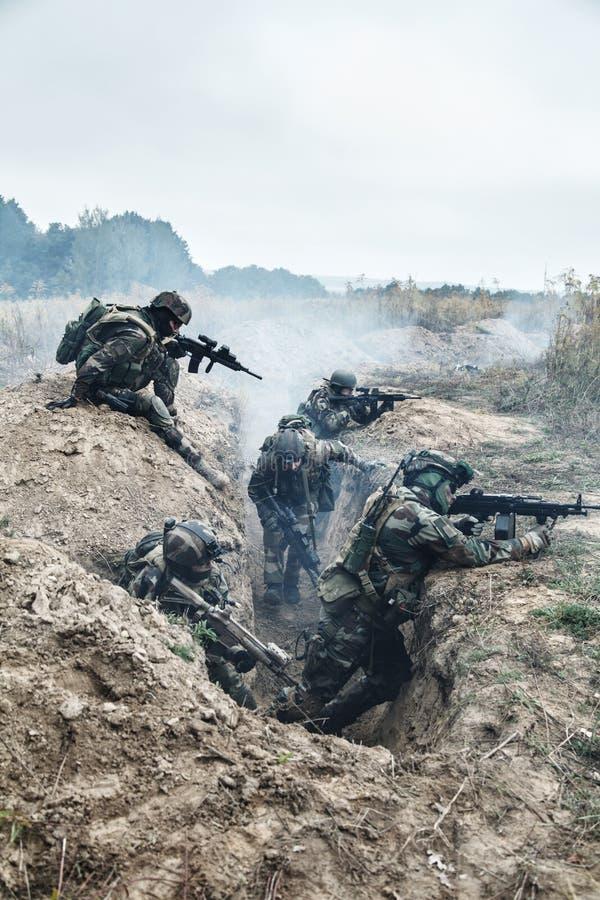 Marine Infantry Parachute Regiment fotos de stock