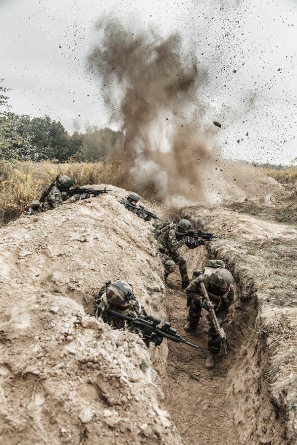 Marine Infantry Parachute Regiment imagens de stock royalty free