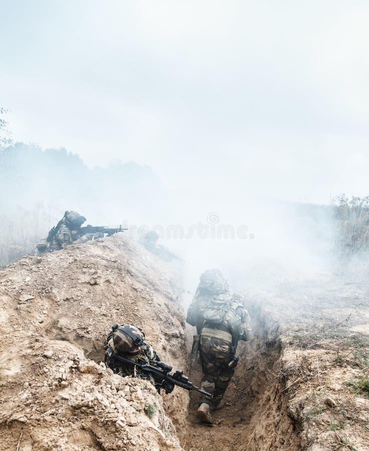 Marine Infantry Parachute Regiment imagens de stock