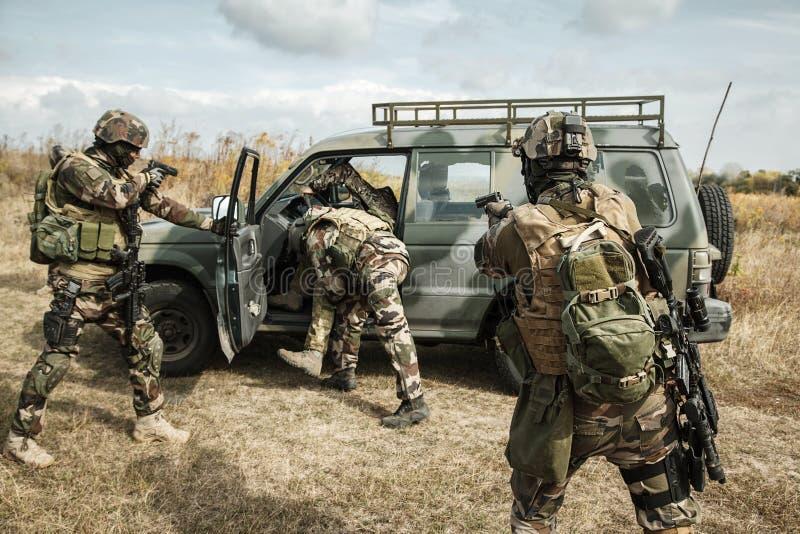 Marine Infantry Parachute Regiment fotografia de stock royalty free