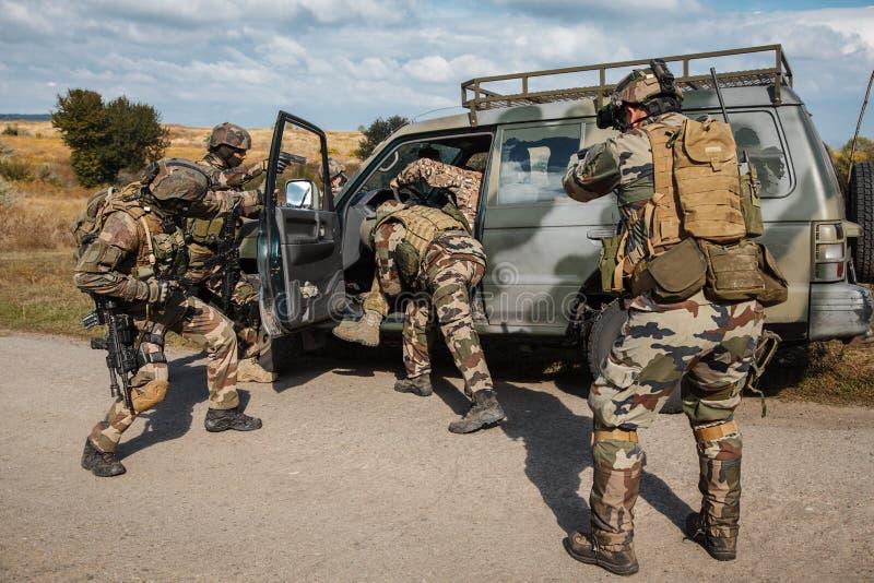 Marine Infantry Parachute Regiment fotos de stock royalty free