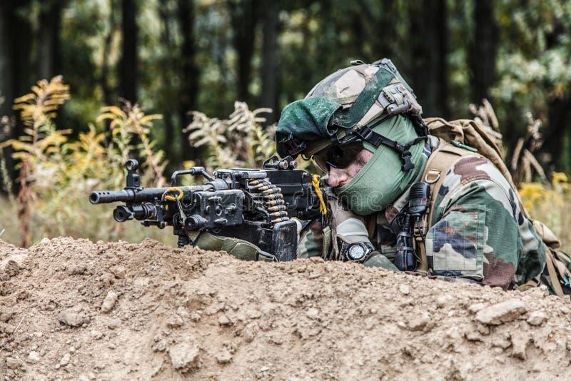 Marine Infantry Parachute Regiment imagem de stock royalty free
