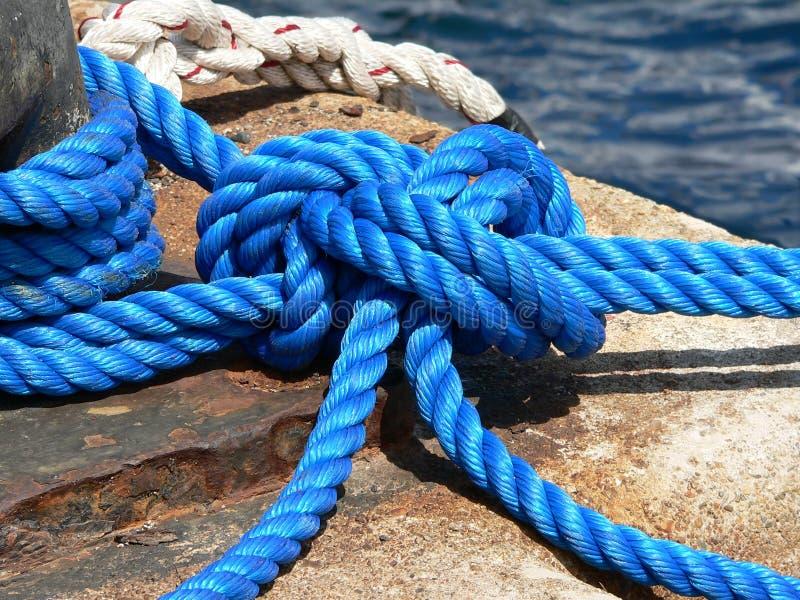 Marine knot royalty free stock photography