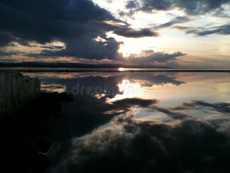 Marine Lake West Kirby Wirral fotografía de archivo