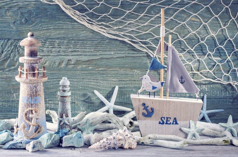 Marine life decoration royalty free stock photo