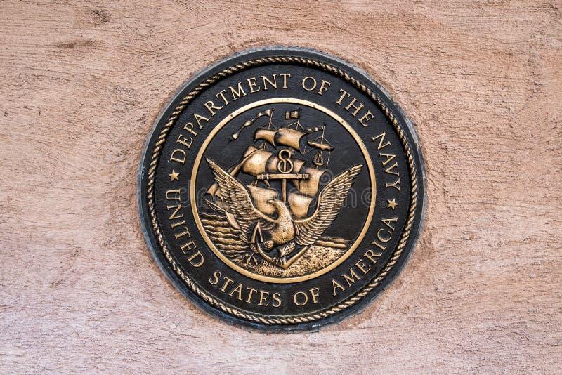 Marine militaire de joint image stock