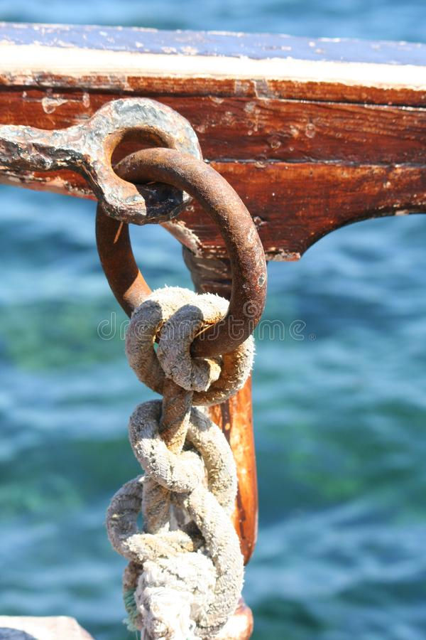 Download Marine nodes stock photo. Image of isolated, tighten, knot - 6183088