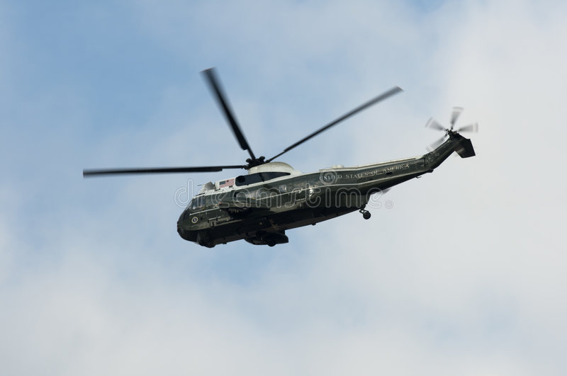 Marine One Presidential Helicopter