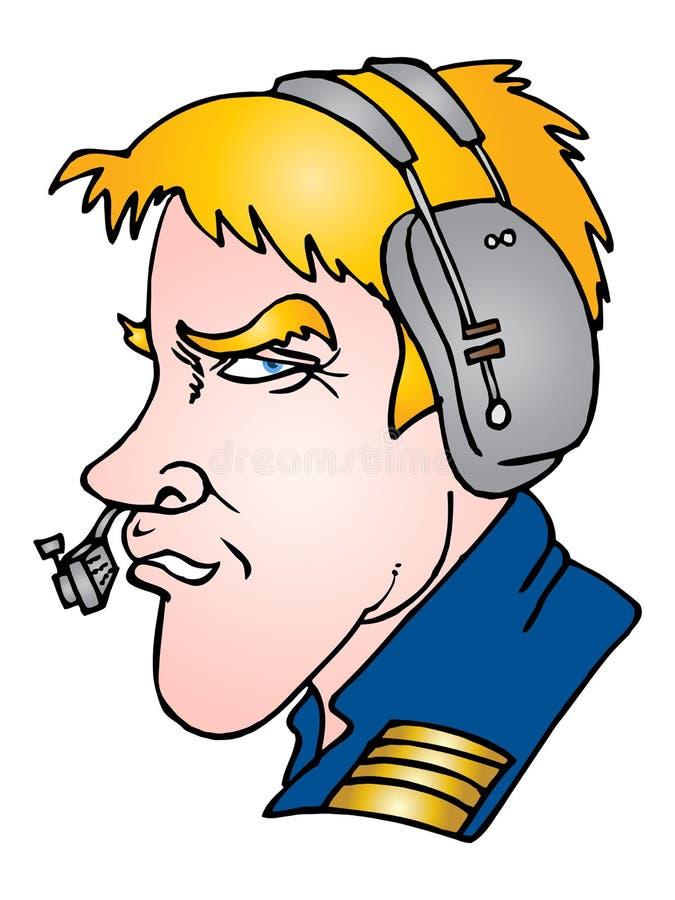 Download Marine operator stock illustration. Illustration of headset - 14259241