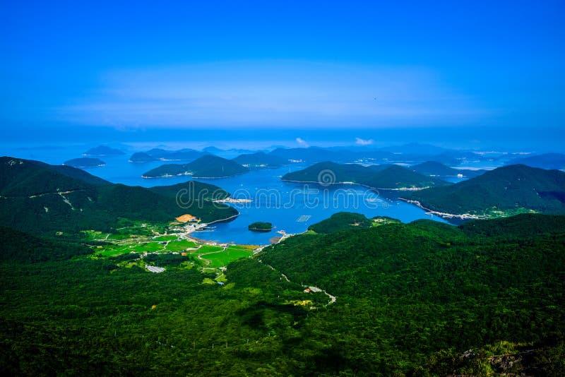 Marine Park nationale, Corée du Sud images stock