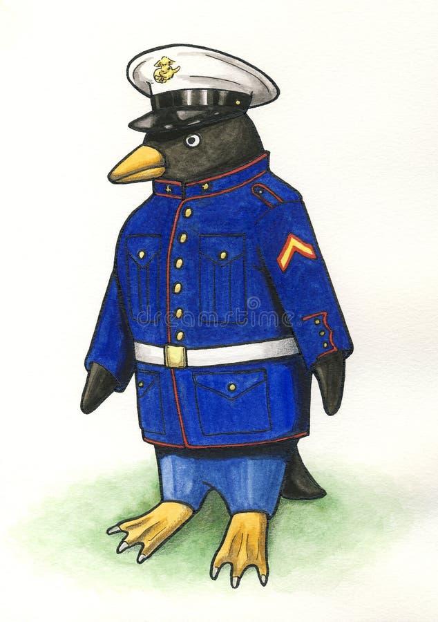 Marine Penguin foto de archivo
