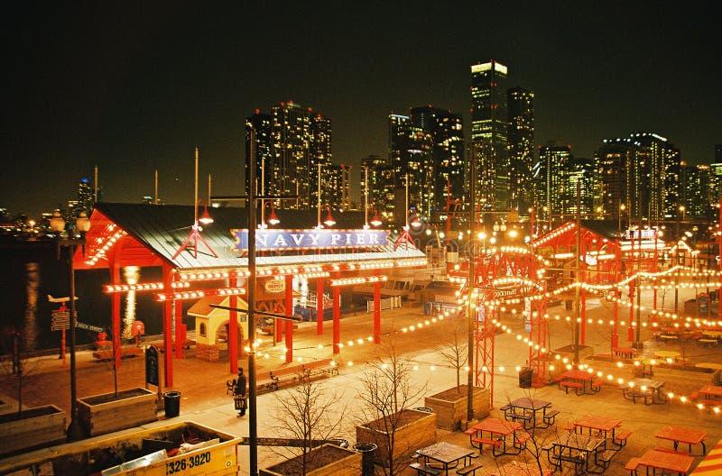 Marine-Pier. Chicago lizenzfreie stockfotos