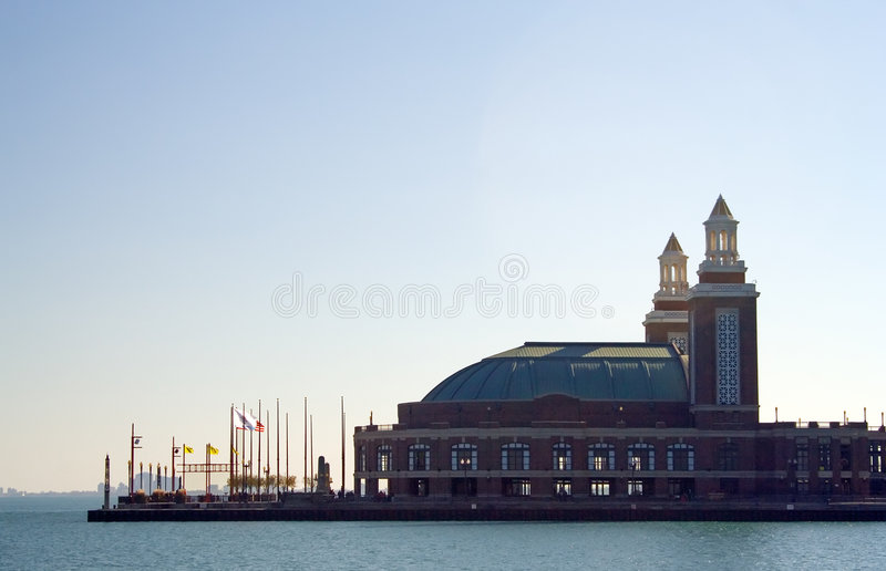 Marine-Pier, Chicago stockfotos