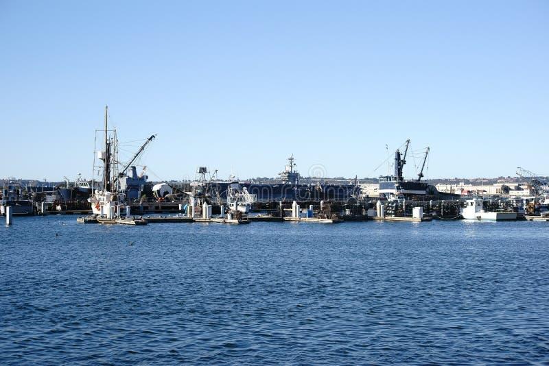 Marine Pier San Diego stockbild