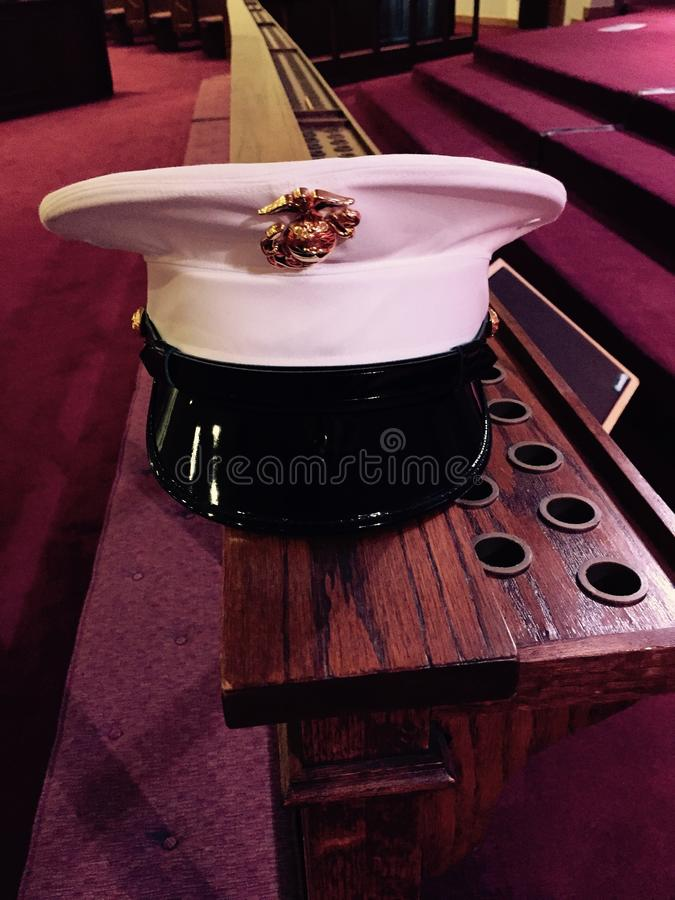 Marine Respect royaltyfri fotografi