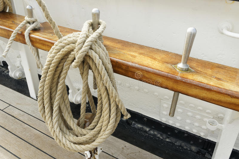 Marine Rope photo stock