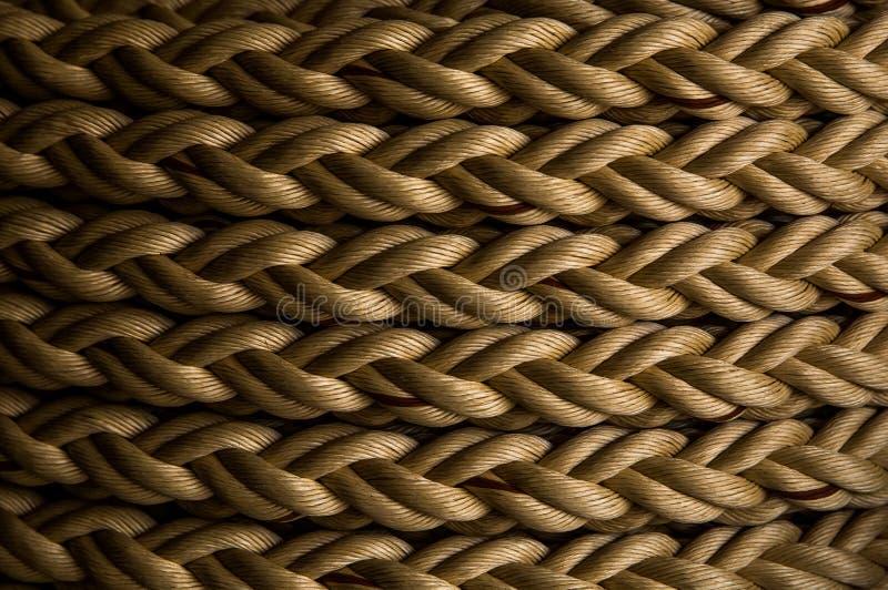 Marine Rope lizenzfreie stockfotografie