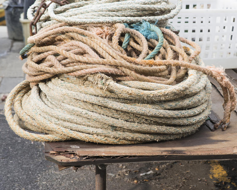 Marine Rope photos stock