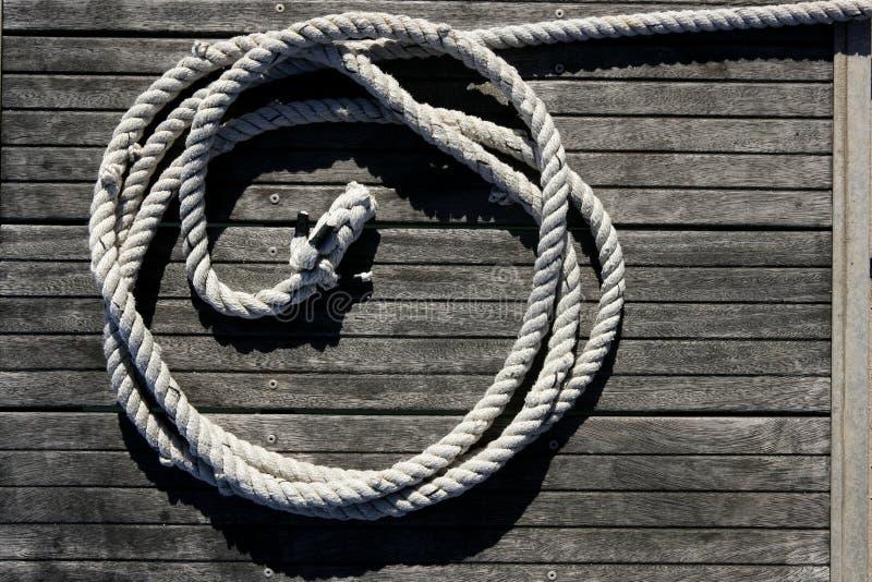 Download Marine Round Thread Over Dried Teak Wood Stock Image - Image of marina, board: 9809655