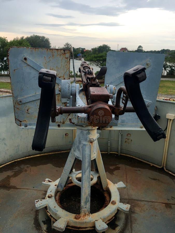 Marine-Schlachtschiff-Gewehr lizenzfreie stockfotos