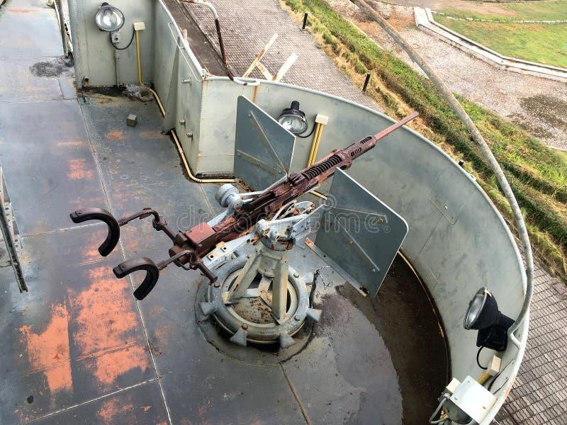 Marine-Schlachtschiff-Gewehr lizenzfreie stockbilder