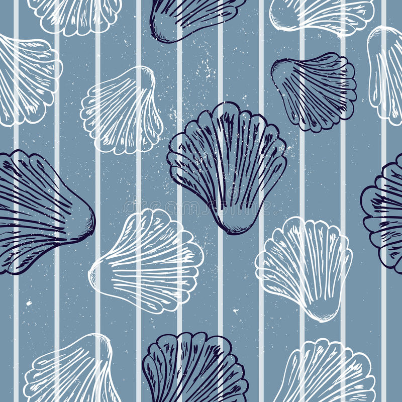 Download Marine seamless pattern stock vector. Image of stripe - 25606981