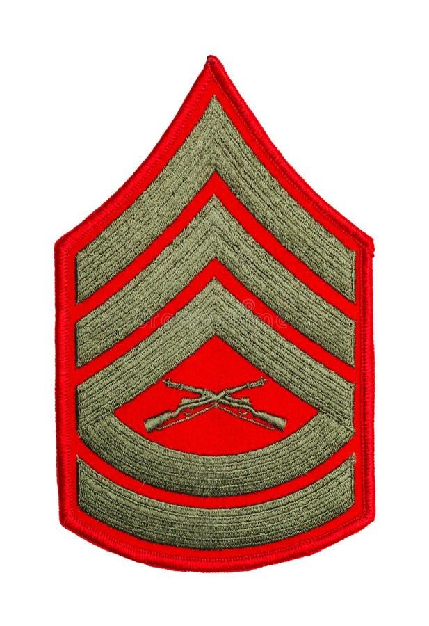 Marine Sergeant images libres de droits