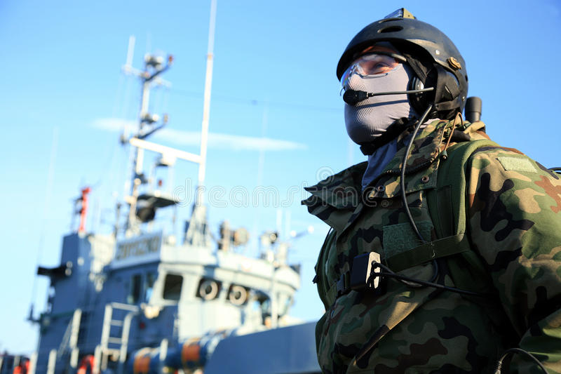 Marine special forces royalty free stock images