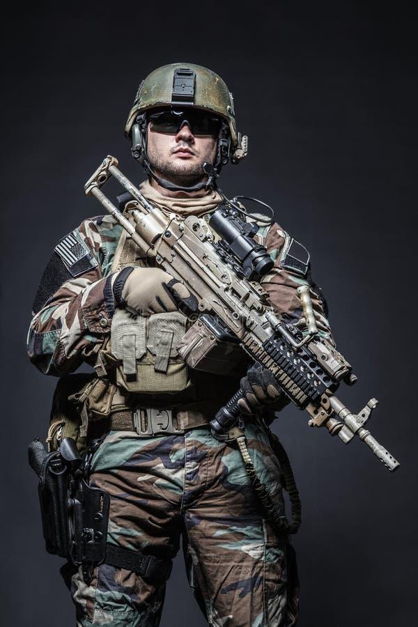 Marine Special Operator royalty free stock photo