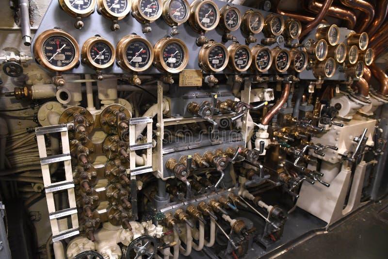 Marine Vereinigter Staaten Unterwasser-USS Silvesides lizenzfreies stockfoto