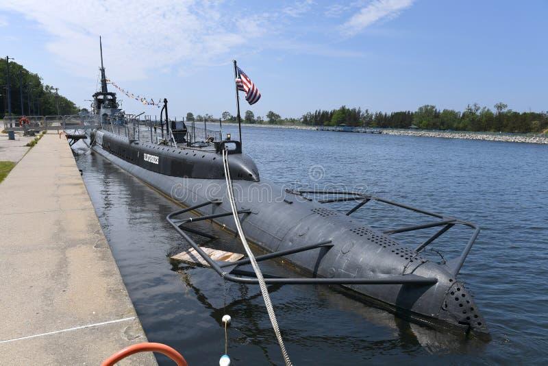 Marine Vereinigter Staaten Unterwasser-USS Silvesides lizenzfreie stockfotos