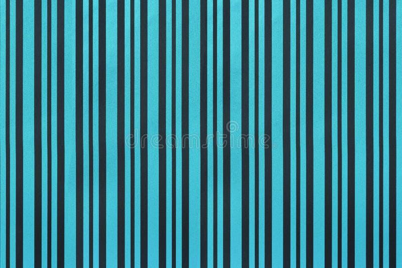 Marineblauwe en zwarte achtergrond van het verpakken van gestreept document stock afbeelding