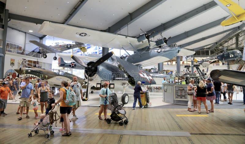 Marinefliegerei-Museums-offenes Haus, Pensacola, Florida lizenzfreie stockfotografie