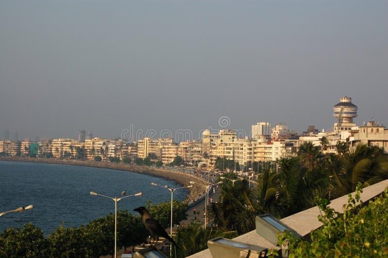 Marinelaufwerk, Mumbai lizenzfreies stockfoto