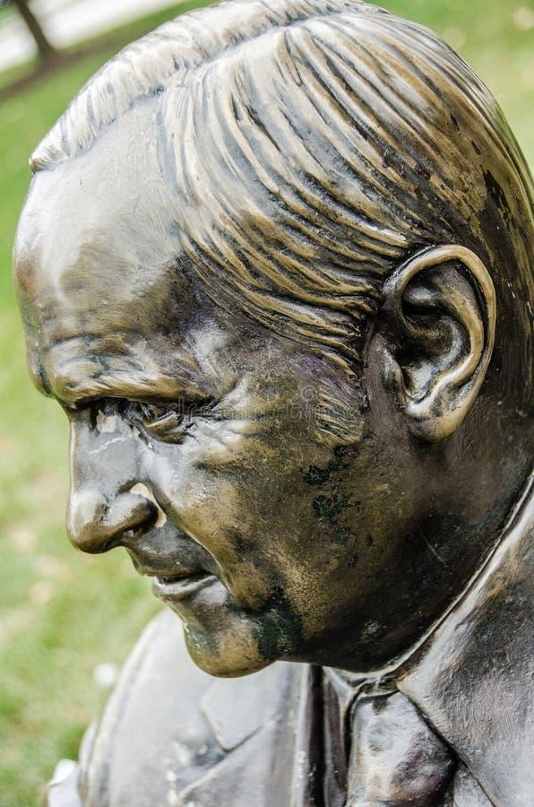 Marinepijler [Bob Newhart Statue, als Bob Hartley royalty-vrije stock afbeelding