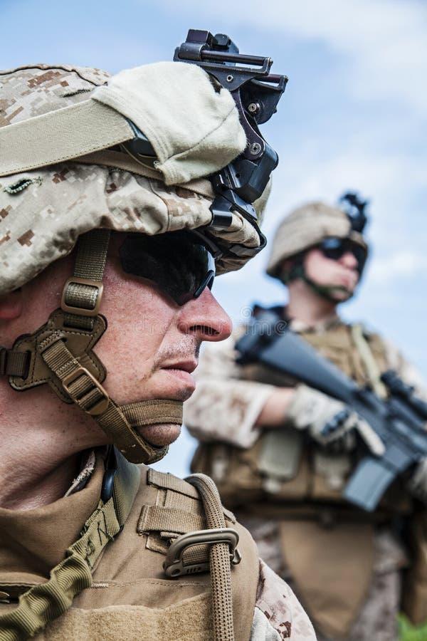 Marines des USA photographie stock libre de droits