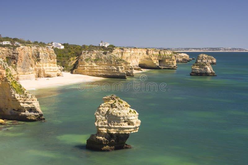 marinha пляжа стоковая фотография