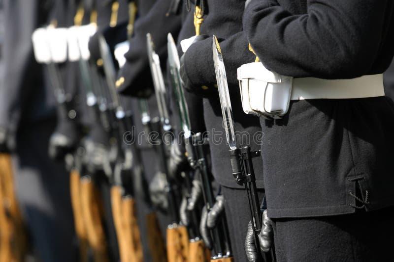 Marinha foto de stock