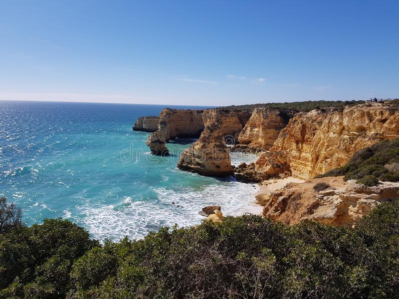 Marinha beach royalty free stock images