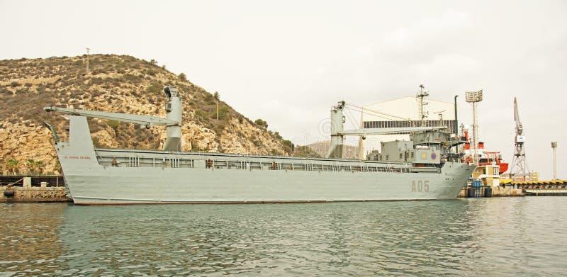 Marinha espanhola, Cartagena imagens de stock royalty free