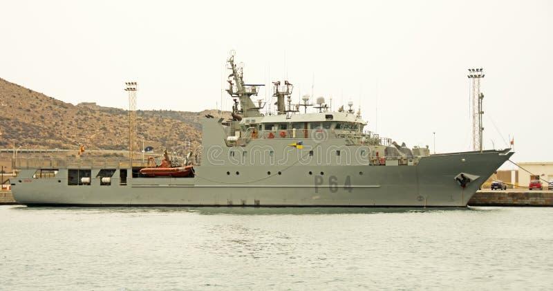 Marinha espanhola, Cartagena foto de stock