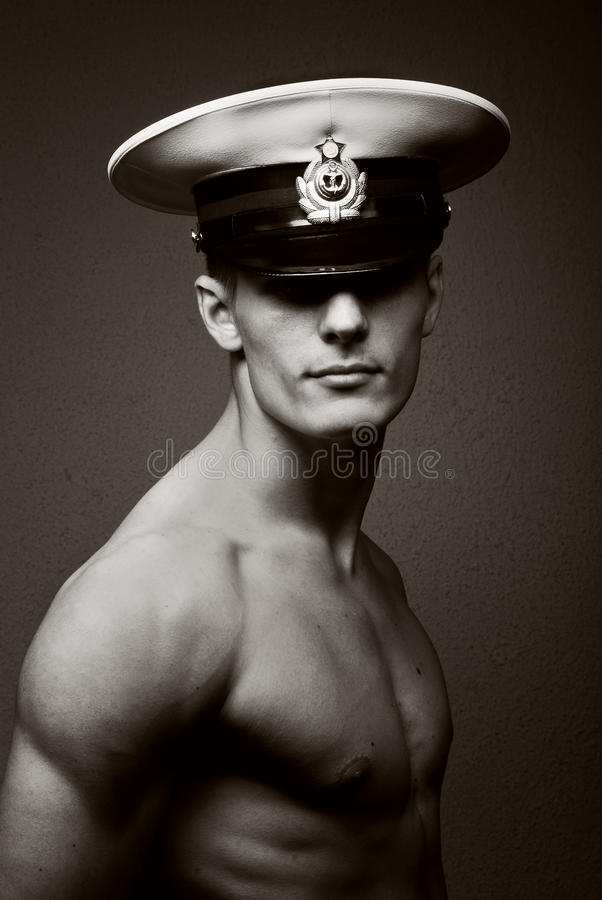 Marinheiro novo imagem de stock royalty free