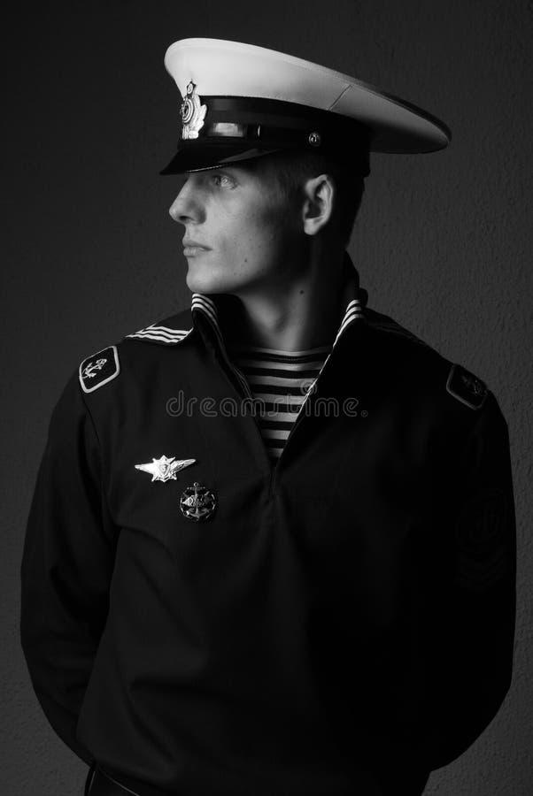 Marinheiro novo foto de stock