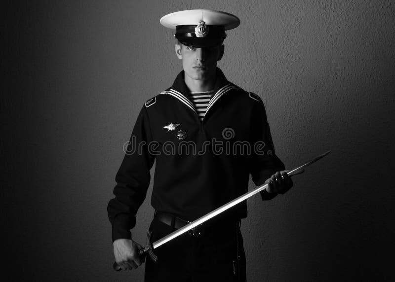 Marinheiro novo imagem de stock