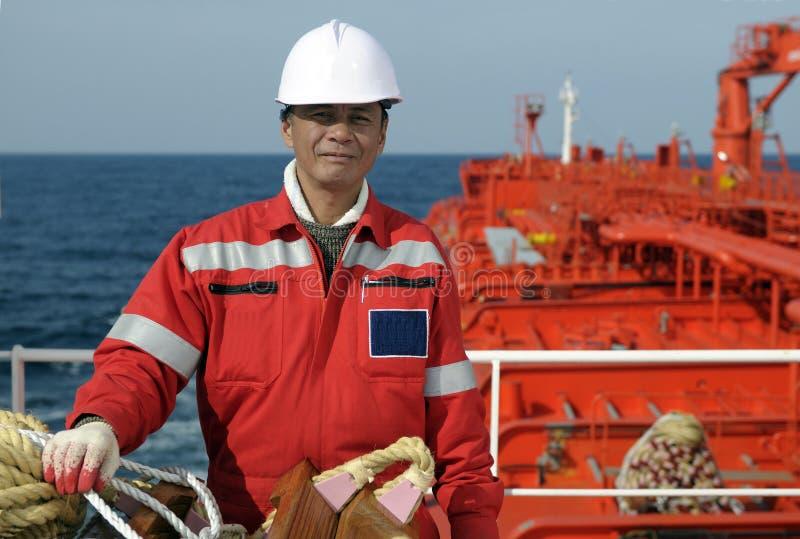 Marinheiros - boatswain foto de stock royalty free