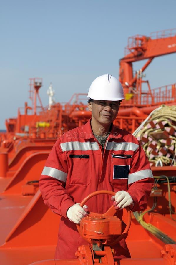 Marinheiros - boatswain foto de stock