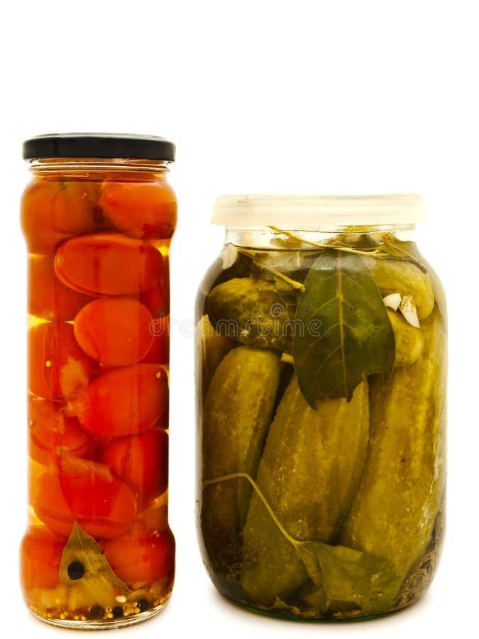 Mariniertes Gemüse lizenzfreie stockfotografie