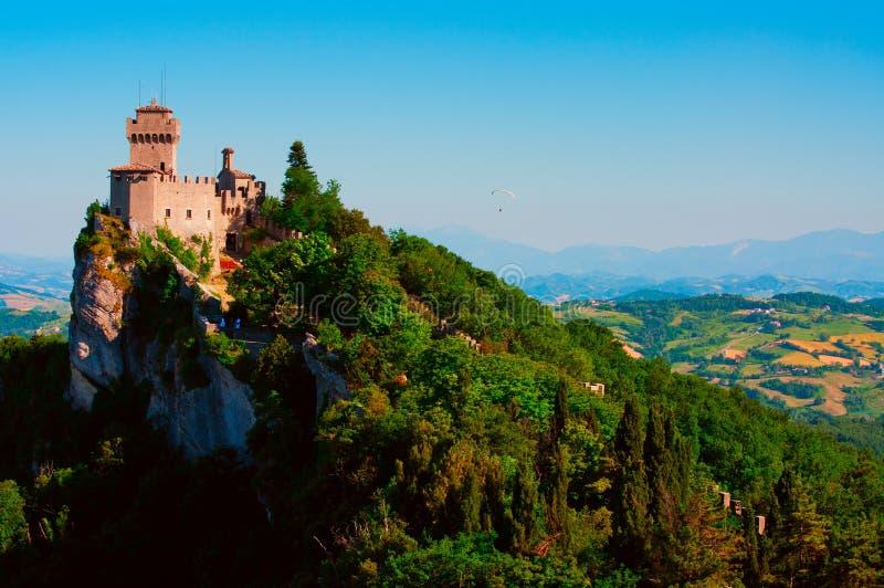 marino san замока стоковое изображение rf