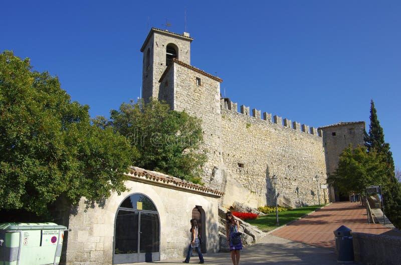 marino san guaita замока стоковые изображения